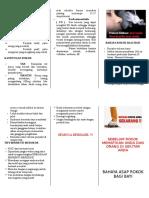 Leaflet Bahaya Rokok Bagi Bayi