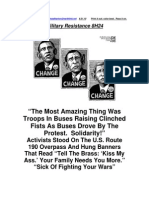 Military Resistance 8H24 Clinched Fists
