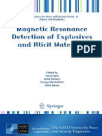 (NATO Science for Peace and Security Series B_ Physics and Biophysics) Taras N. Rudakov (Auth.), Tomaž Apih, Bulat Rameev, Georgy Mozzhukhin, Jamie Barras (Eds.)-Magnetic Resonance Detection of Explos
