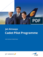 Jet Airways Cadet Programme Brochure #44799.3