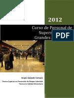 Curso de Personal de Supermercados y Grandes Almacenes