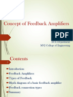 Concept of Feedback Amplifiers