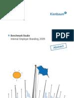 Abstract Benchmark-Studie Internal Employer Branding 2009
