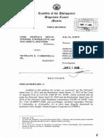 Cebu People's Multi-purpose Cooperative and Macario G. Quevedo vs. Nicerato E. Carbonilla, Jr.