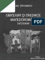 Tircomnicu Emil Obiceiuri Si Credinte Macedoromane