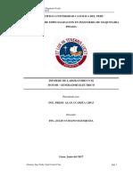 INFORME DE LABORATORIO N°02-GENERADOR ELECTRICO