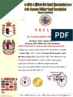 Certificato Potenza 2017