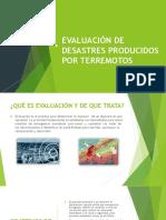 Evaluación de Desastres Producidos Por Terremotos