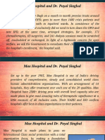 Max Hospital and Dr. Payal Singhal
