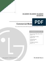 42cq610h Commercial Mode Setup Guide