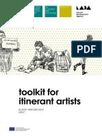 Toolkit for Itinerant Artists  -  Elena Marchevska