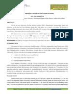 18.Format. Hum-post Demonetisation Scenario in India