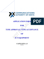 Type Approval Application Form CA-f-lcs-ta_1_3