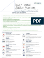 Employee Portal Evolution Masters 2010_SDU_2