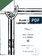 Plani i tretë i coptimit të Shqipërís