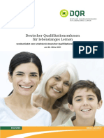 DQR - Der Deutsche Qualifikationsrahmen für lebenslanges Lernen