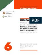 [2012].InformeIndicadores Sostenib.en4Municipios.[2011]