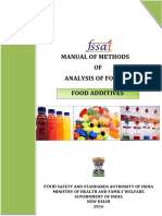 Manual Food Additives 25-05-2016