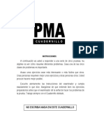 TEST Pma Cuadernillo