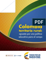 Colombia Territorio Rural