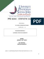 laporan deskriptif statistik