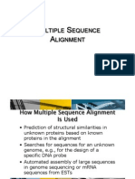 Multiple Sequence Alignment - Lecture 01