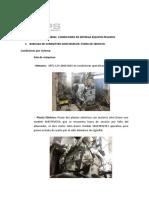 Informe General Condiciones de Entrega Equipos Pesados