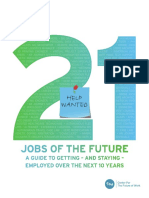 21 jobs of the future