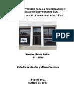Estudio Geotécnico  Resta ubicada en la calle 109 #17-63  Marzo 2017 V1.pdf