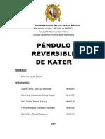 Pendulo Reversible Fisica 2017