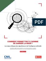 Cnil Rapport Garder La Main Web