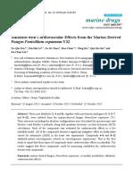 Alkaloid dengan Kardiovaskular Efek dari Marine- Berasal Jamur Penicillium expansum Y32.pdf