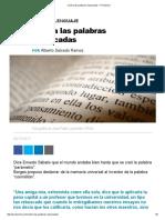 Contra las palabras rebuscadas – Alberto Salcedo Ramos