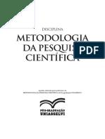 1060-11- Capa Apostila Da Metodologia de Pesquisa