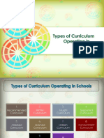Types of Curriculum