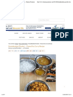 Kondakadalai Pirattal - Chana Dry Curry Recipe - Sharmis Passions