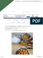 Kondakadalai Pirattal - Chana Dry Curry Recipe - Sharmis Passions
