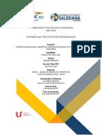 Informe Pasantias CELEC PAUTE MOLINO