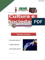 Cultura e Sociedade - Aula