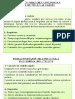 PERITACIÓN PSIQUIÁTRICA-PSICOLÓGICA