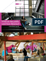 What Public Want From Libraries Practitioner Guide 0112bl2 2010