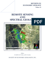 Remote Sensing and Spectral Geology