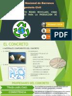 Uso de Pavimento Rígido Reciclado