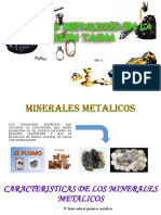 Minerales Metalicos Tacna