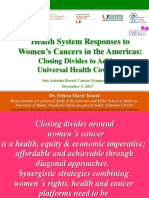 Health System Responses to Women's Cancers in the Americas