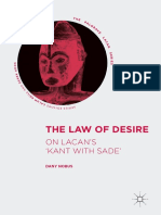 Nobus, Dany-The Law of Desire_ On Lacan's 'Kant with Sade'-Springer Science and Business Media _ Palgrave Macmillan (2017).pdf
