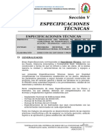 2) Especificaciones Tecnicas - Text