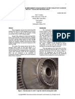A CFD Analysis of the Impingement Cooling Effect of the Coolant Jet Caused by the T56 1st Stage Disc Metering Hole - Snedden
