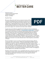 FFBC Letter to CDG