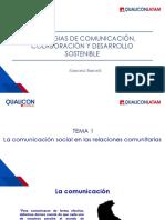 01 La comunicación social en las relaciones comunitarias